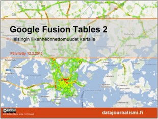 google-fusion-tables-tutoriaali