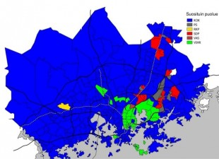 eurovaalit-paakaupunkiseudulla