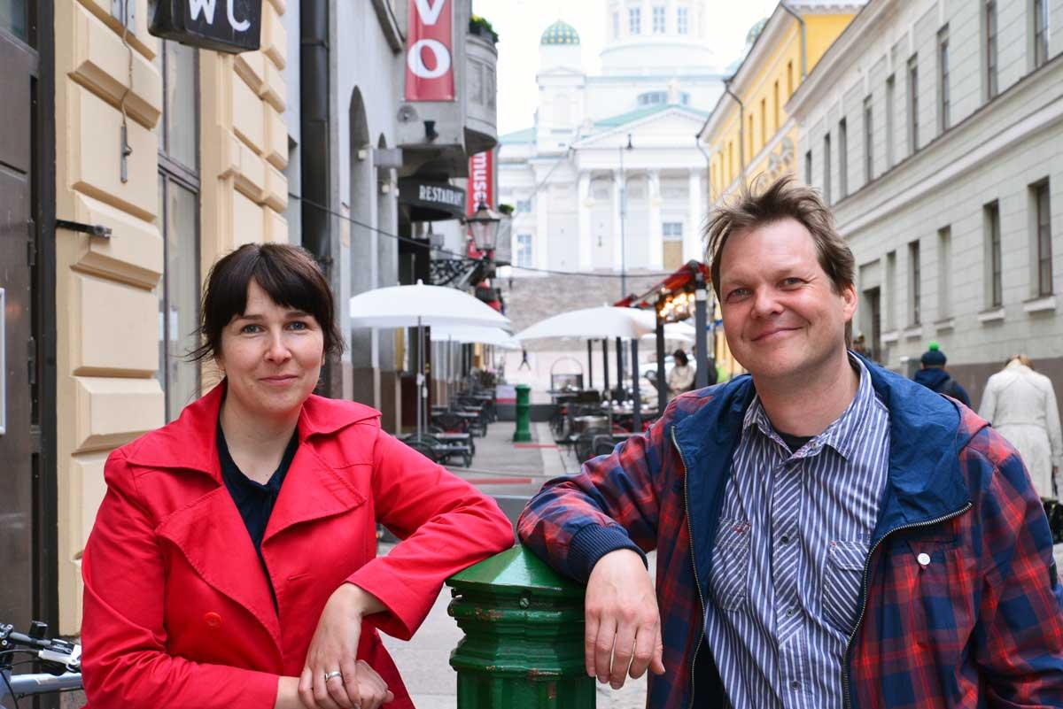 Hanna Niemi-Hugaerts ja Jaakko Rajaniemi.