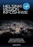 Cover of HRI's four page leaflet (2014).