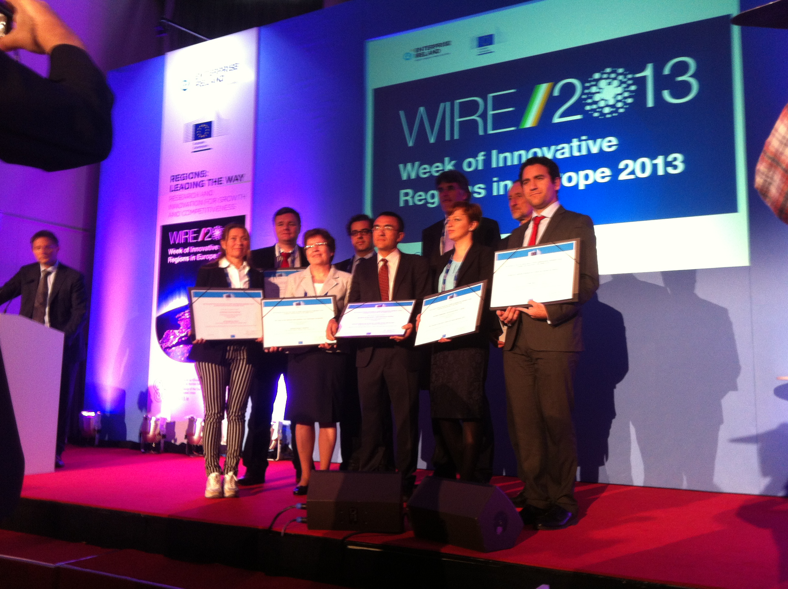 HRI received the main prize in the EU's innovation competition in 2013.