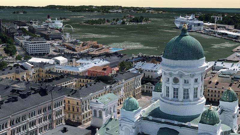 Helsinki 3D Mesh
