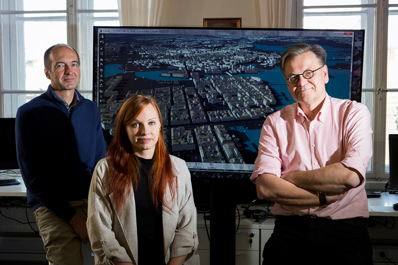 Helsinki 3D team
