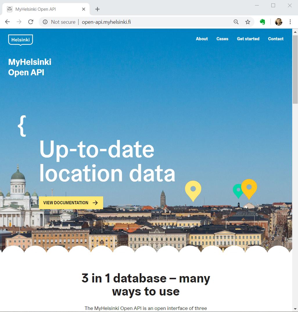 MyHelsinki Open API