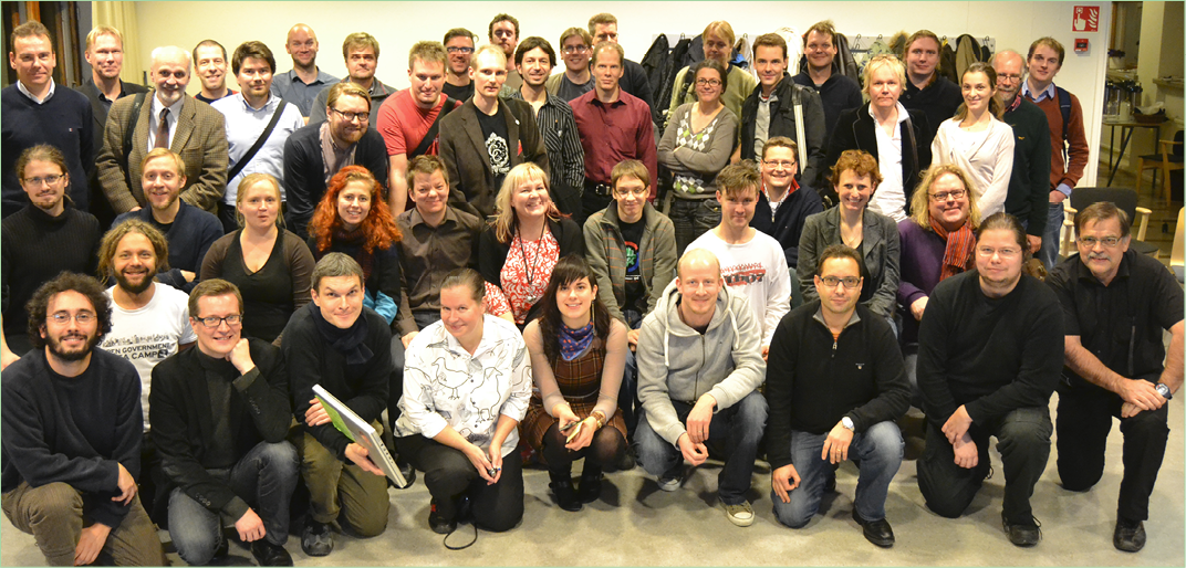 The first meeting of Open Knowledge Finland in November 2011.