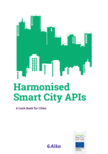 Cover of Harmonised Smart City API Cook Book.