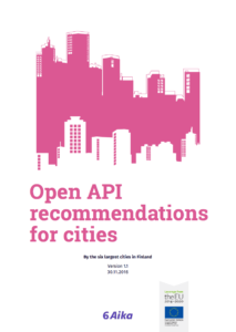 Cover of Open API recommendations for cities brochure.
