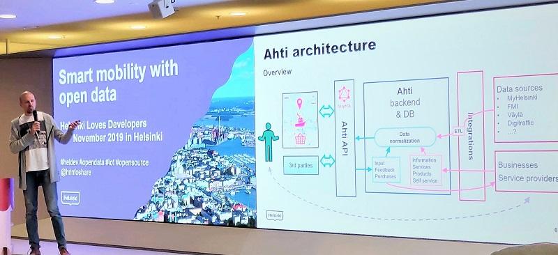 Ahti-ekosysteemin arkkitehtuurin esittelyä.